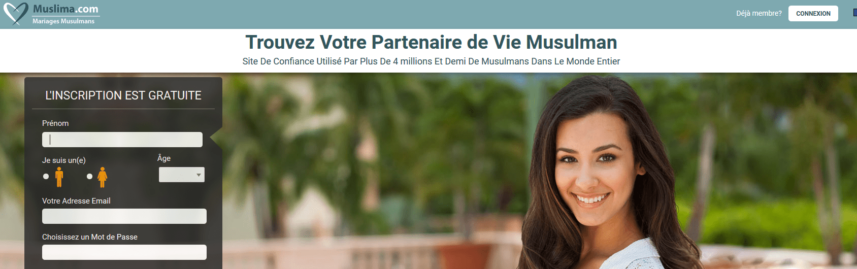 site de rencontre gratuit international musulman
