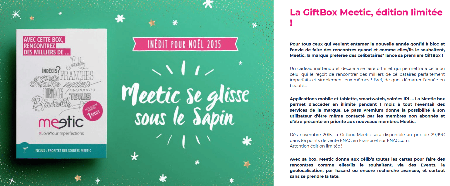 carte cadeau meetic